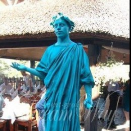 живая скульптура Дюк де Ришелье2