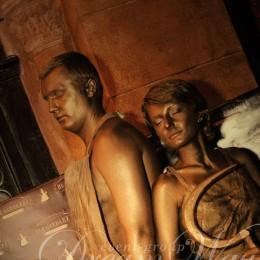 Живые скульптуры в Одессе