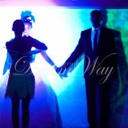 Рисование светом на свадьбу