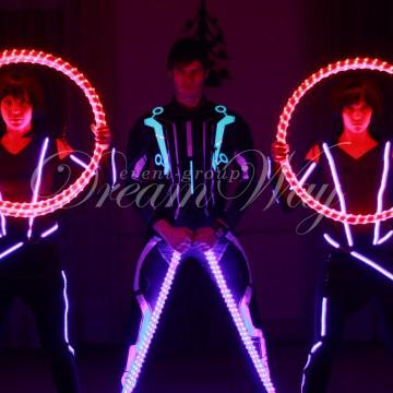 Новое световое шоу Одесса