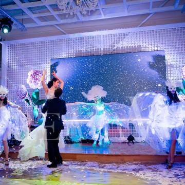 постановка первого танца молодых