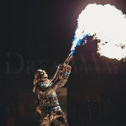 Огненное шоу Киев, Одесса