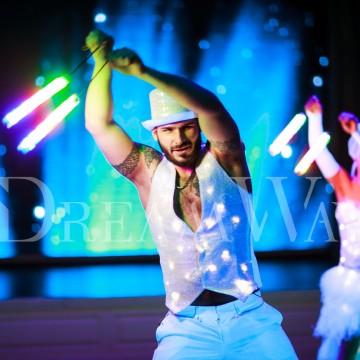 Световое шоу в Одессе