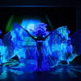Яркое световое антре в Одессе
