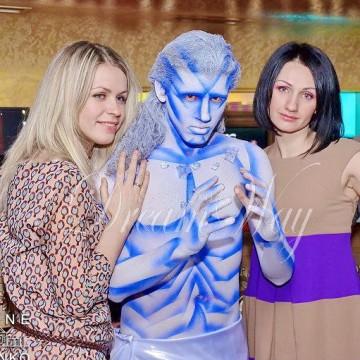 Новогодние актеры и ростовые куклы