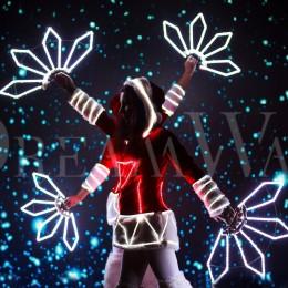 Новогоднее световое шоу