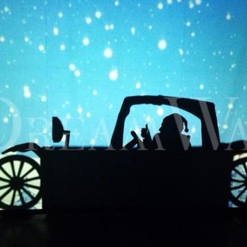 Новогодний театр теней