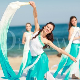 Романтический танец с вейлами в Одессе