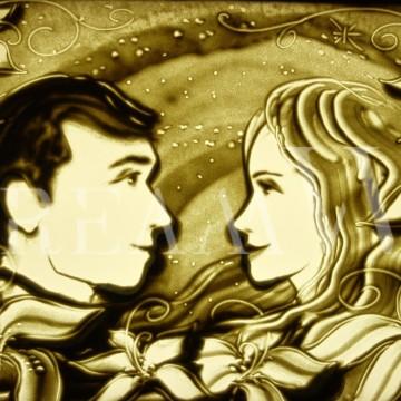 Песочная анимация в Одесса